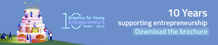 10 Years Erasmus for Young Entrepreneurs